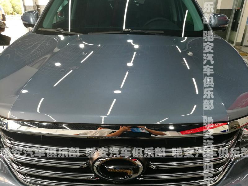 重庆车漆镀晶现场